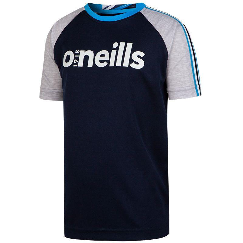 Elliot T-Shirt (Marine/Mel Grey/Swedish Blue)