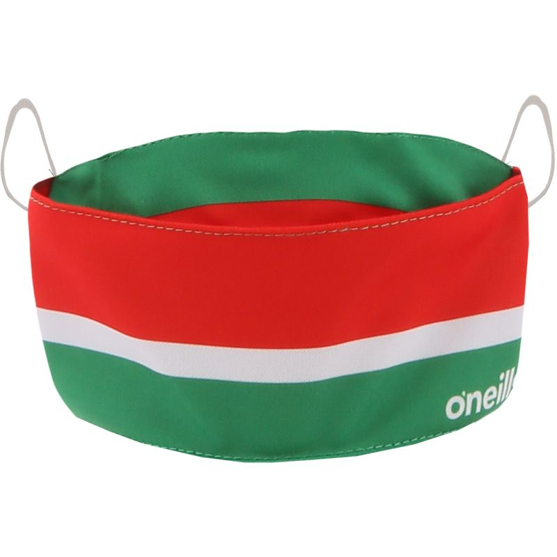 Kids' Reusable Face Mask Green / Red / White