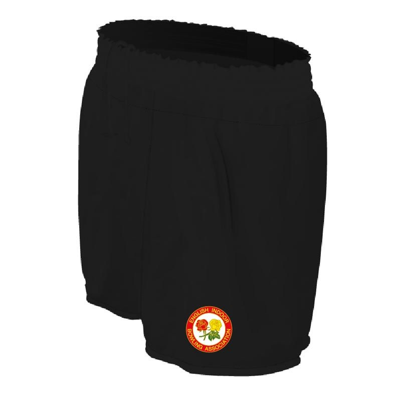 England Indoor Bowls Association Bailey Shorts (Black)
