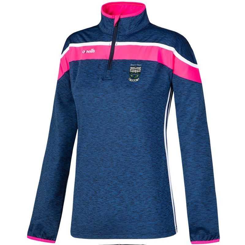 Erins Own Castlecomer Womens Slaney 3s Brushed Half Zip Training Top