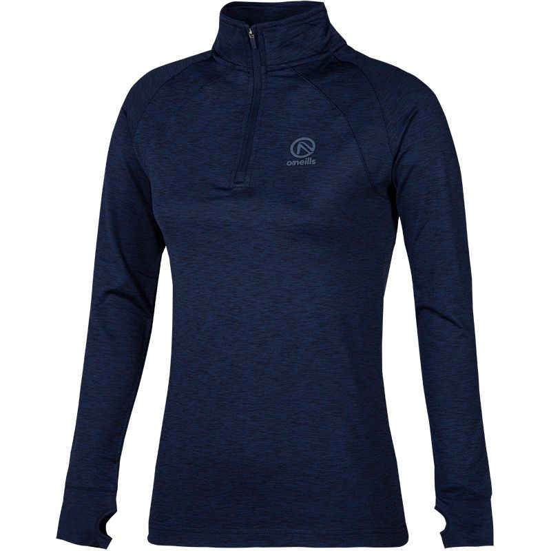 Kids' Esme Brushed Half Zip Top Marine