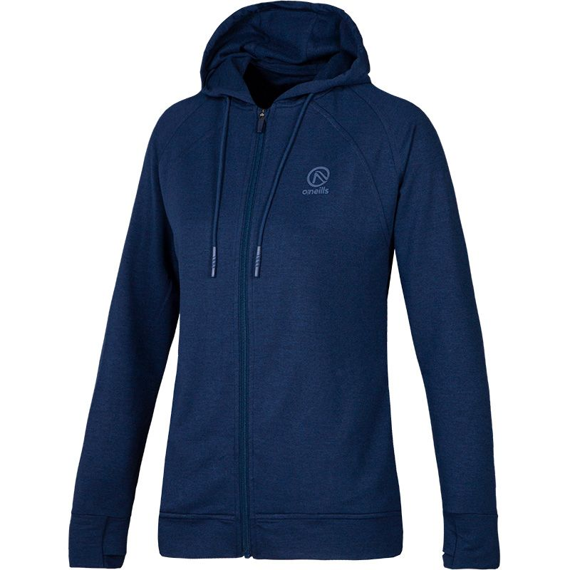 Women's Esme French Terry Full Zip Hoodie Marine