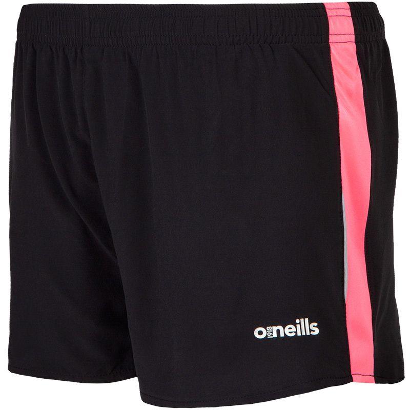 Women's Esme Athletic Shorts Black / Pink