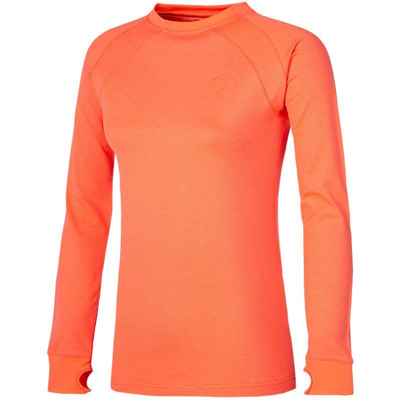 Women's Esme Brushed Sweatshirt Orange