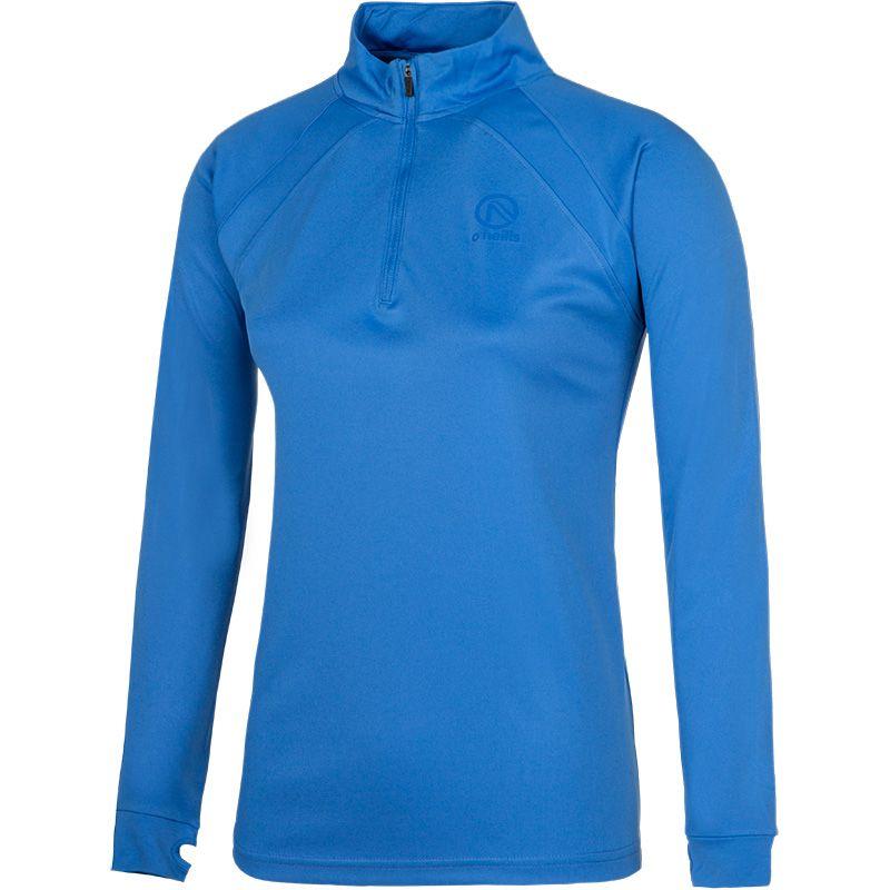 Women's Esme Midlayer Half Zip Training Top Blue