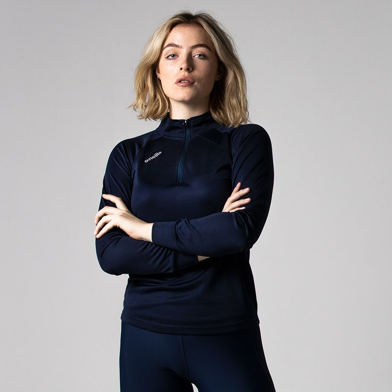 Women's Esme Midlayer Half Zip Top Marine