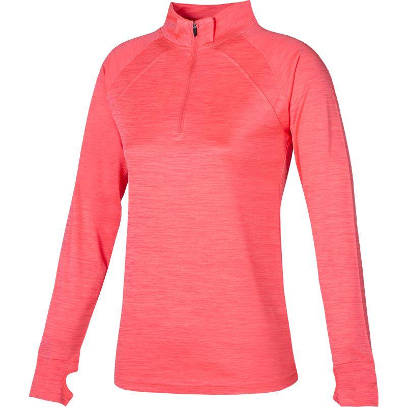 Women's Esme Midlayer Half Zip Top Pink