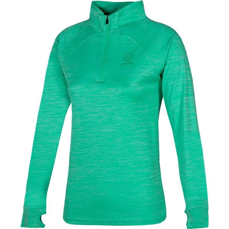 Women's Esme Midlayer Half Zip Top Green