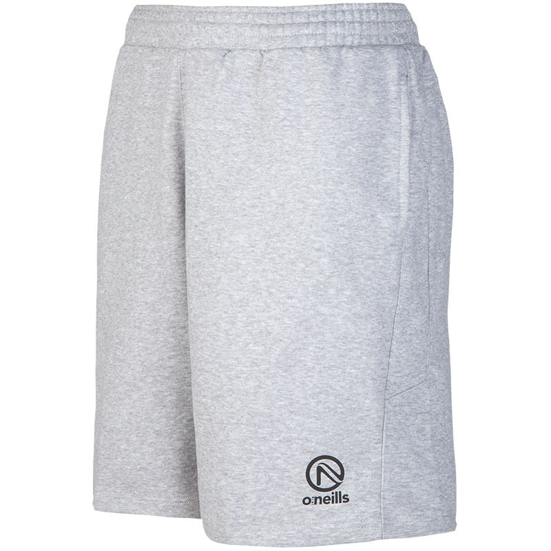 Men's Explorer Fleece Shorts Grey / White