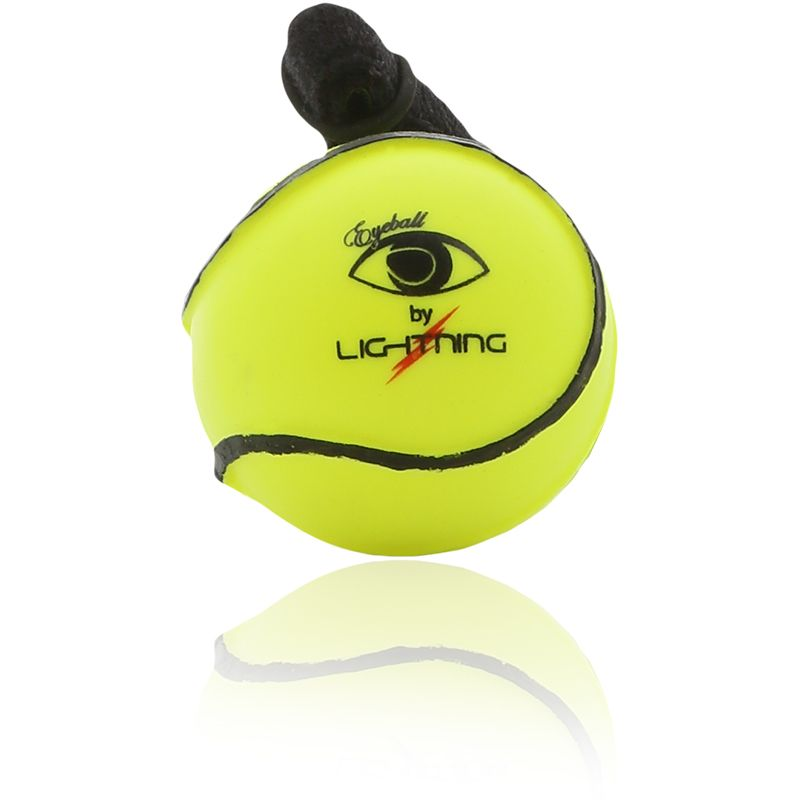 Lightning Eyeball Sliotar Yellow