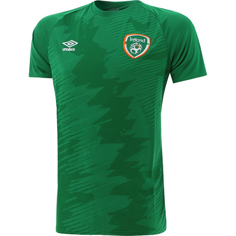Umbro Republic of Ireland 2021 Kids' Graphic T-Shirt Green