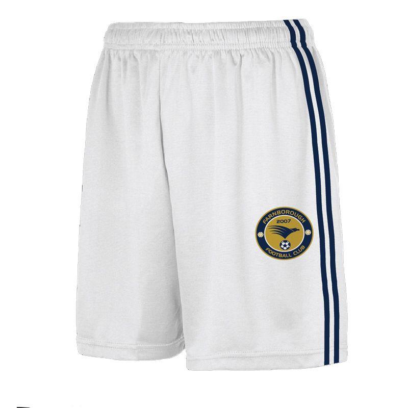 Farnborough Football Club Kids' Home Printed Match Shorts