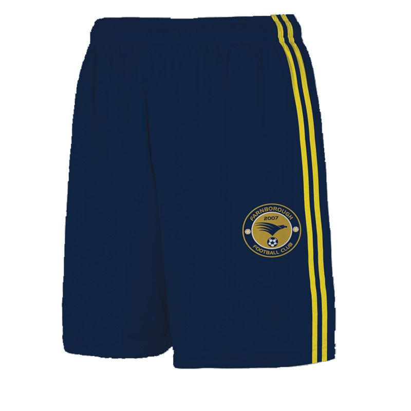 Farnborough Football Club Kids' Away Printed Match Shorts