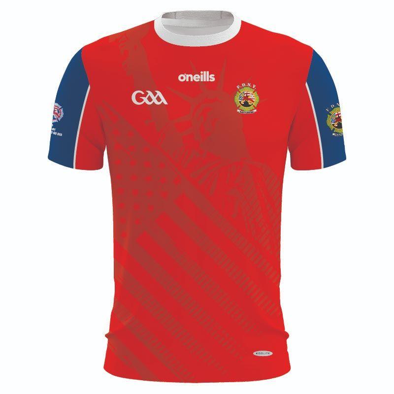 FDNY GAA Women's Fit Jersey (Red)