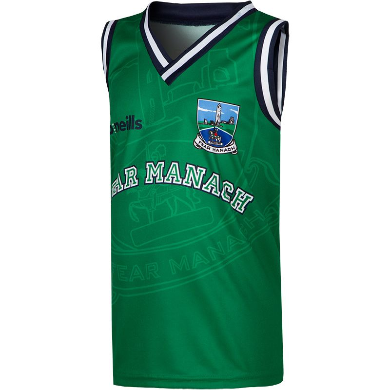 Fermanagh GAA Kids' Basketball Vest