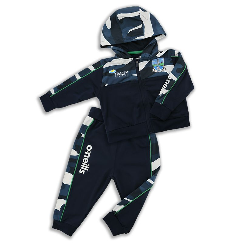Fermanagh GAA Kids' Bobby Brushed Infant Suit Marine / Multi / Green