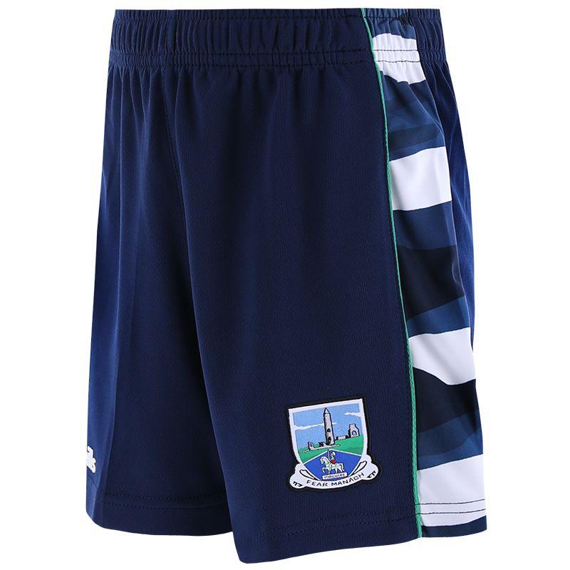Fermanagh GAA Kids' Bobby Shorts Marine / Multi / Green