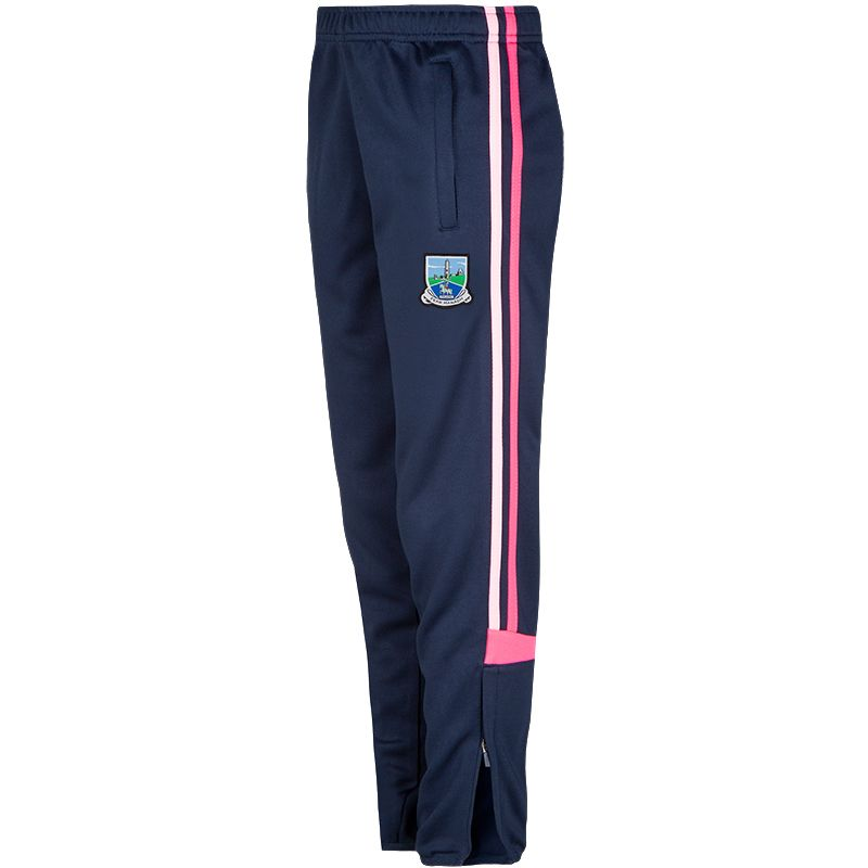 Fermanagh GAA Colorado 2S Skinny Pants (Kids) (Marine/Knockout Pink/Cotton Candy)