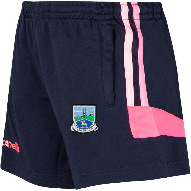 Fermanagh GAA Colorado 2S Shorts (Kids) (Marine/Cotton Candy/Knockout Pink)