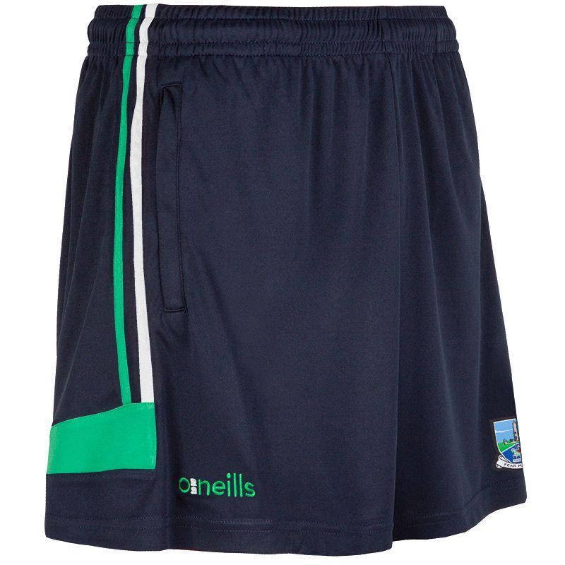 Fermanagh GAA Colorado 2S Poly Shorts (Marine/Emerald/White) (Kids)