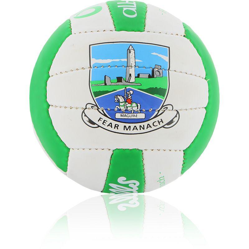 Fermanagh GAA All Ireland Mini Gaelic Football Emerald / White