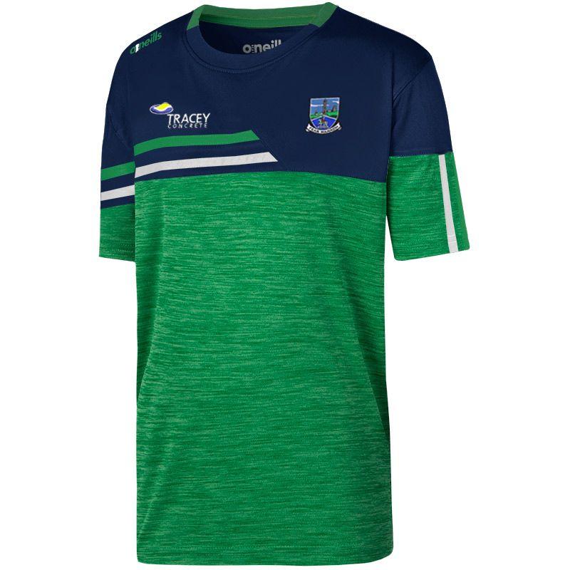 Fermanagh GAA Kids' Nevis T-Shirt Green / White