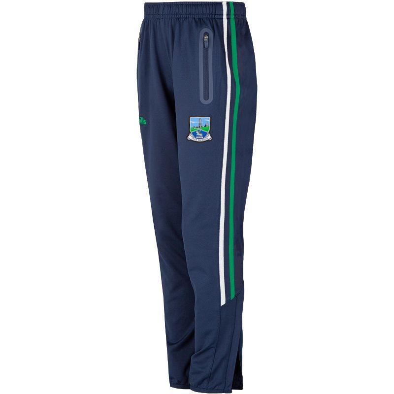 Fermanagh GAA Kids' Nevis Brushed Skinny Pants Marine / Green / White