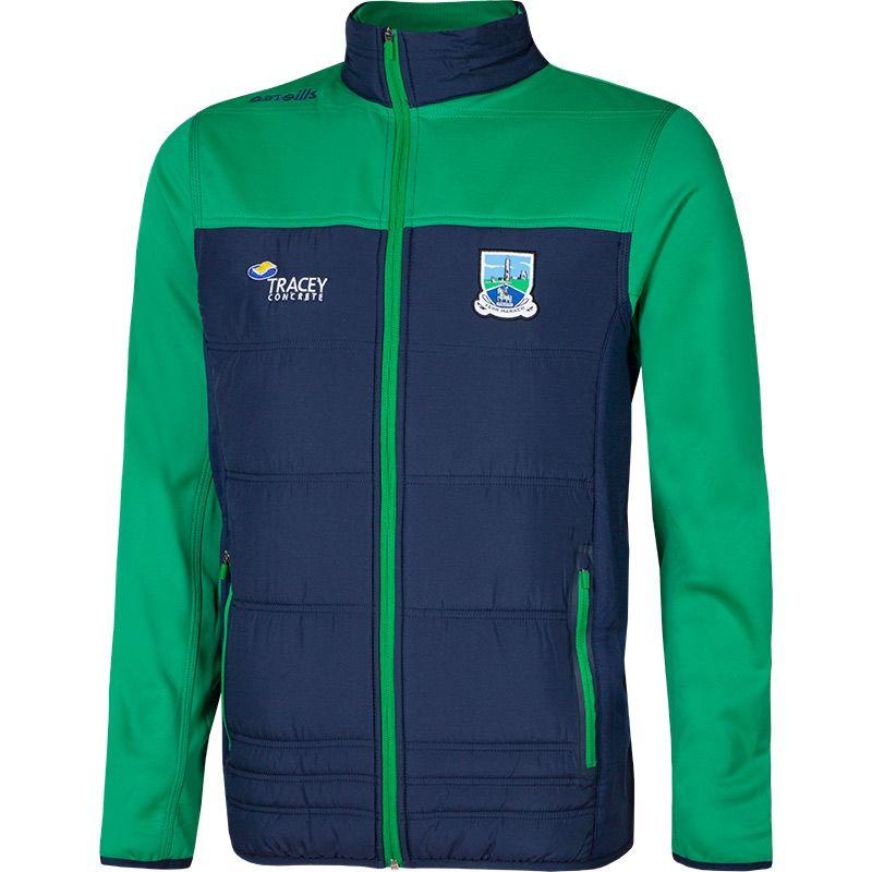 Fermanagh GAA Men's Nevis Padded Jacket Marine / Green