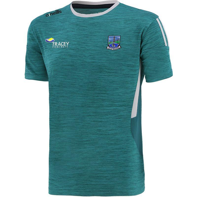 Fermanagh GAA Kids' Raven T-Shirt Green / Silver / Marine