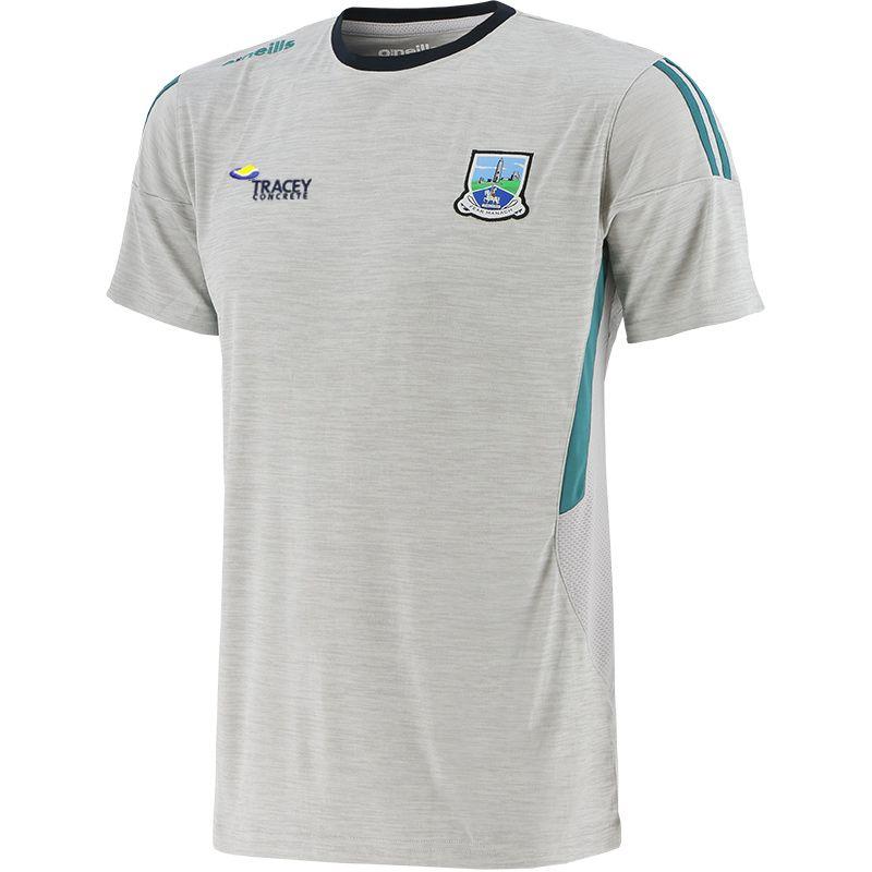 Fermanagh GAA Men's Raven T-Shirt Silver / Green / Marine