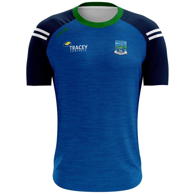 Fermanagh GAA Kids' Voyager T-Shirt Marine / Green