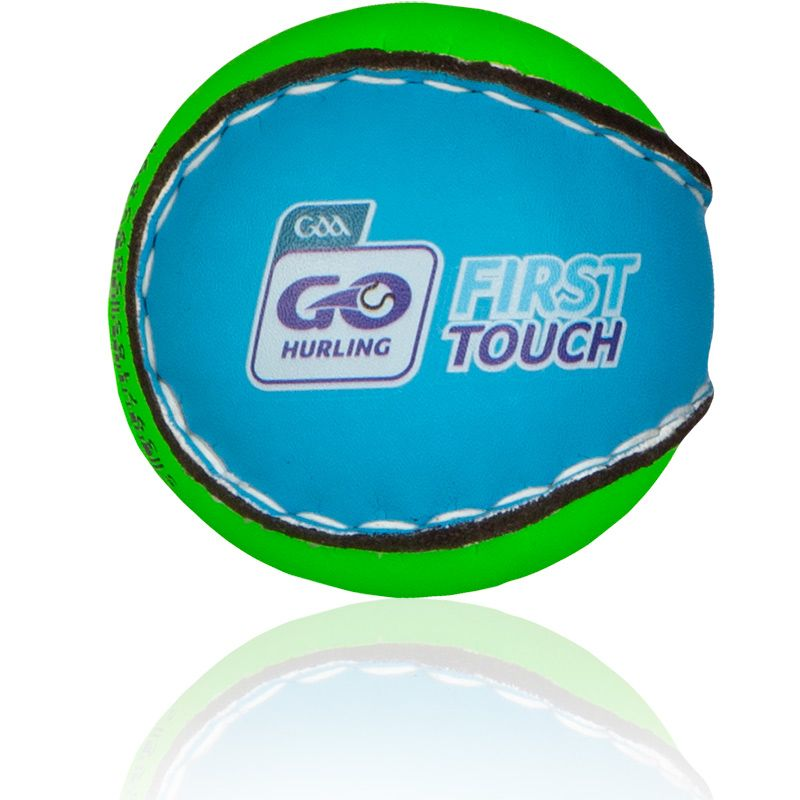 First Touch Hurling Ball Green / Blue