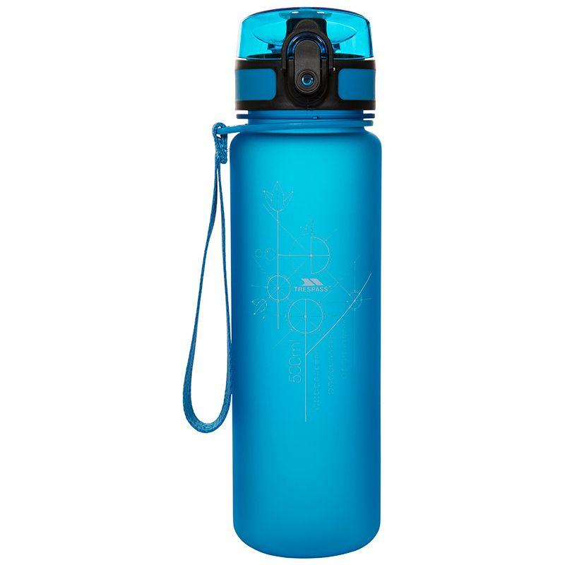 Trespass Flip Lid Bottle Blue