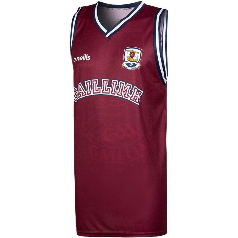 Galway GAA Basketball Vest