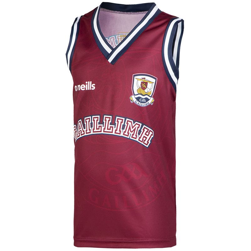 Galway GAA Kids' Basketball Vest