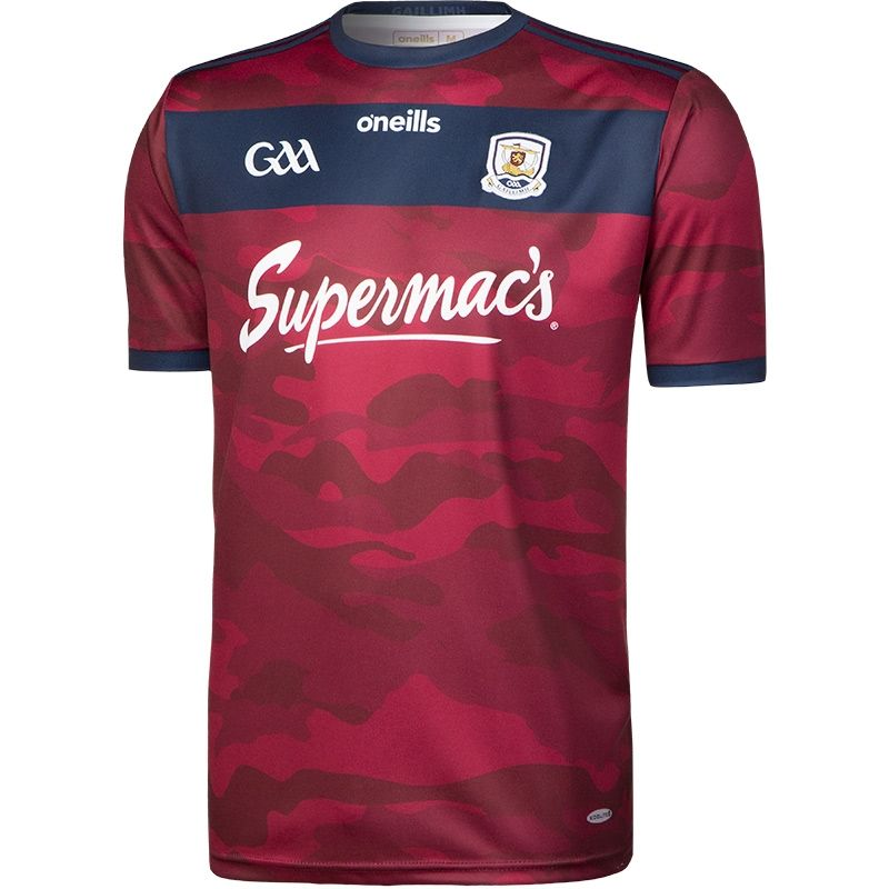 Galway GAA Away Goalkeeper 2-Stripe Jersey (Maroon)
