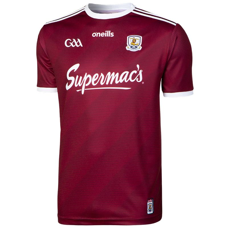 Galway GAA 2-Stripe Player Fit Home Jersey