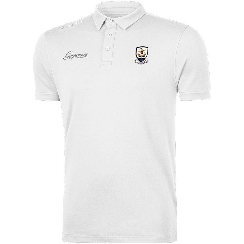 Galway GAA Pima Cotton Polo (White)