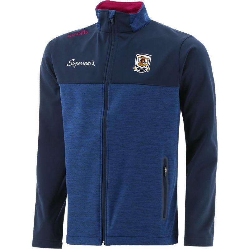 Galway GAA Men's Portland Soft Shell Jacket Marine / Maroon