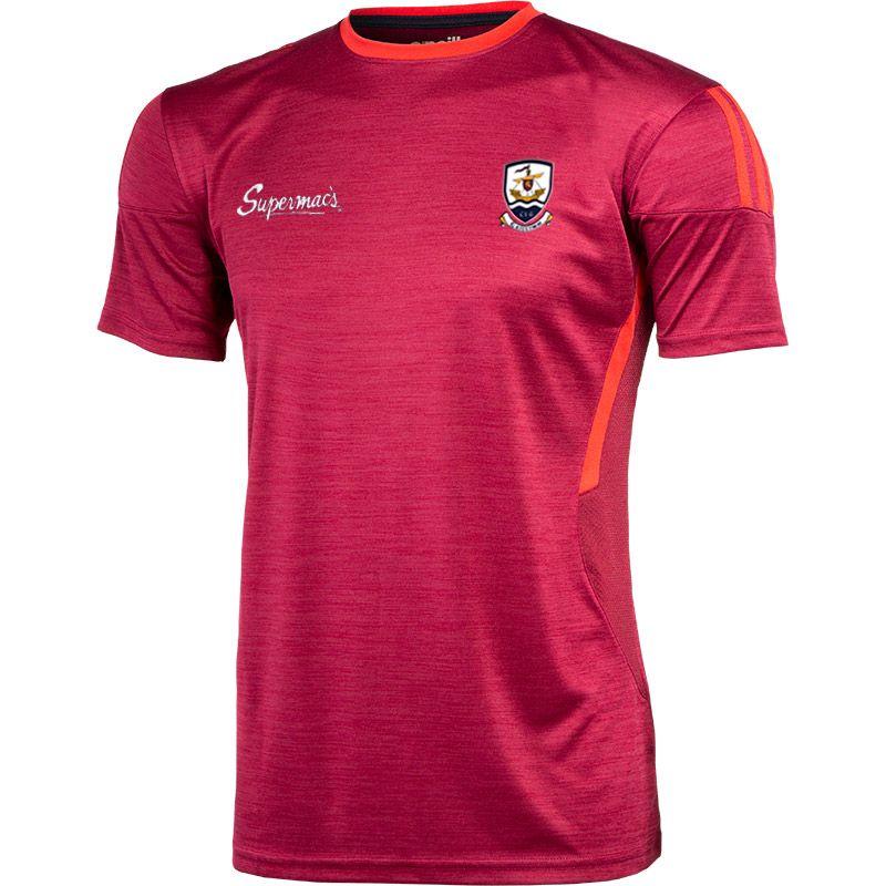 Galway GAA Men's Raven T-Shirt Maroon / Red / Marine