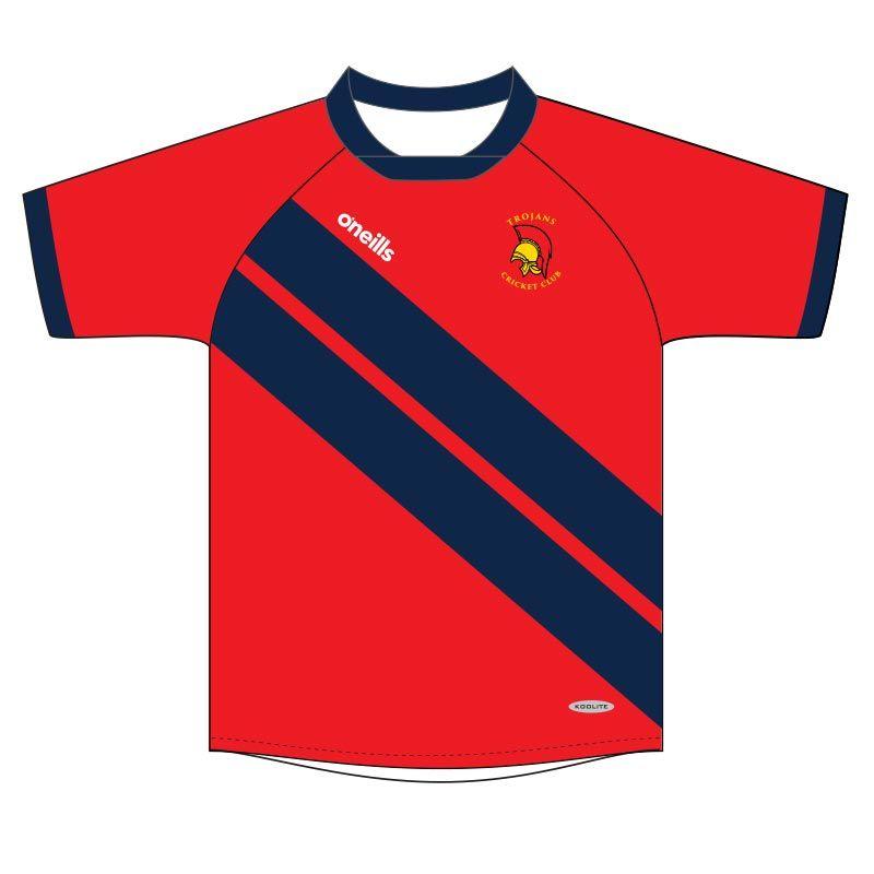 Trojans Cricket Club Kids' Games Shirt
