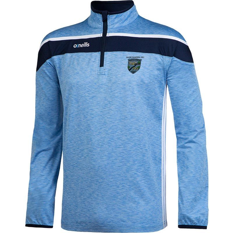 Glyde Rangers Slaney 3s Brushed Half Zip Training Top (Kids)