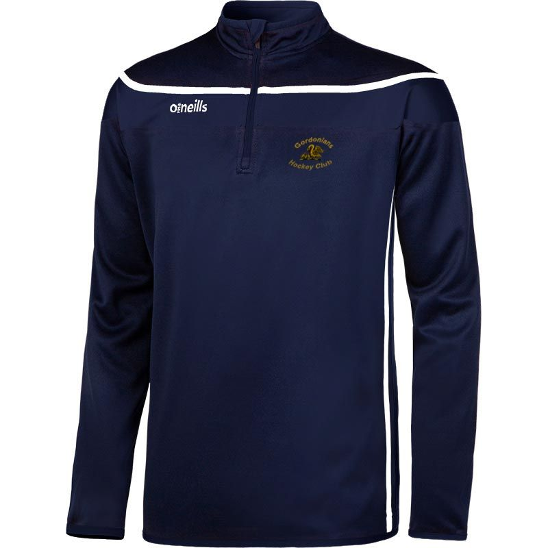 Gordonians Hockey Club Auckland Squad Half Zip