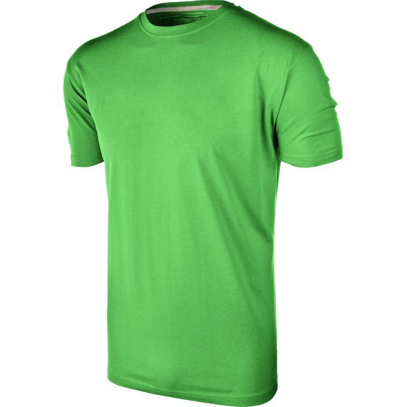 Kids' Basic Cotton T-Shirt Emerald