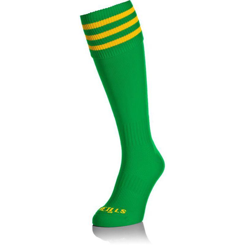 Kids' Premium Socks Bars Green / Amber