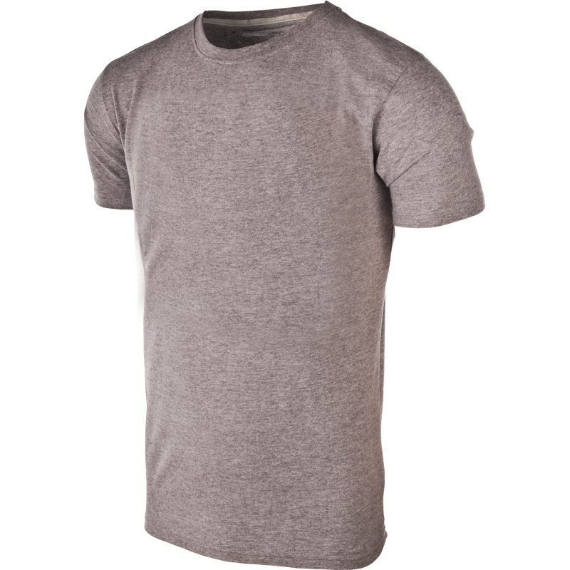 Men's Basic Cotton T-Shirt Silver