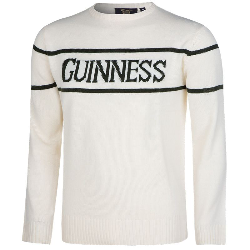 Guinness Crew Neck Knit Jumper Cream