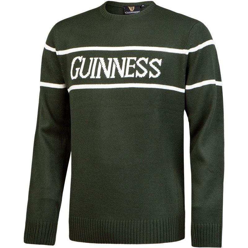 Guinness Crew Neck Knit Jumper Bottle
