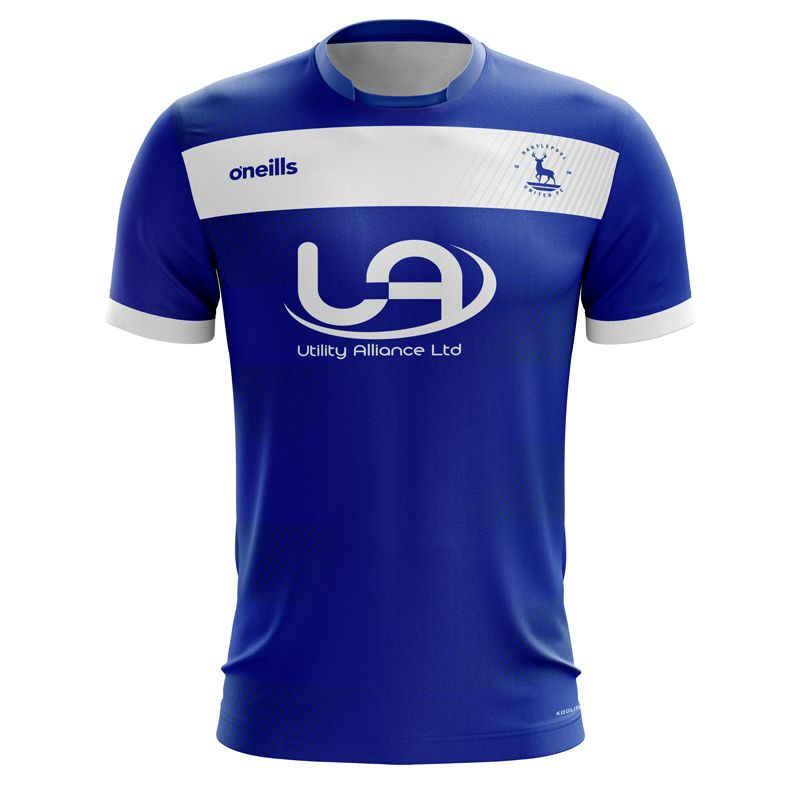 Hartlepool United F.C Soccer Jersey (Home)