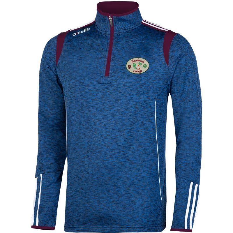 Hazelwood College Solar Brushed Half Zip Top Kids